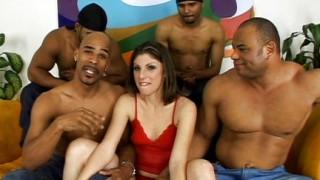 Orgia con quattro neri