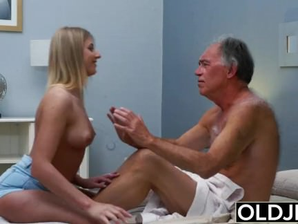 sexy girl old man love sex